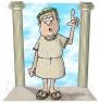 5501-Roman-Era-Philosopher-Clipart-Illustration