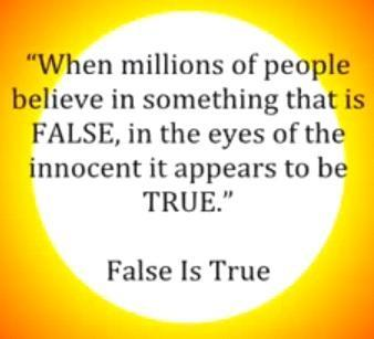 When false becomes true