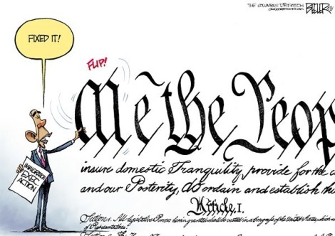 Obama fixes Constitution