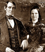 Abe Lincoln wedding pic