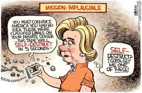 Hillary servers 2