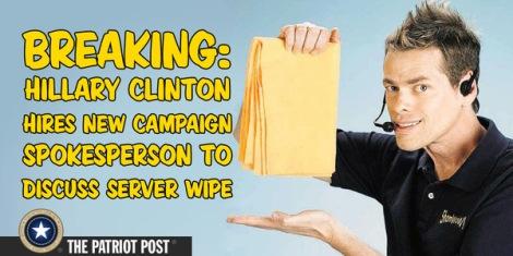 Hillarys server