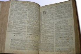 KJV with Geneva notes1649