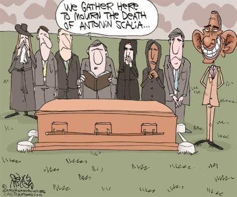 Scalia Death