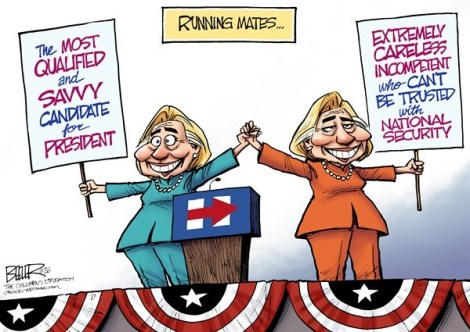 Hillary for Hillary VP
