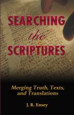 Searching the Scriptures Front Cover