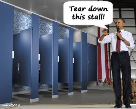 Obama Tear down this stall