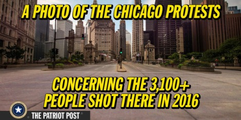 chicago-protests-empty-street